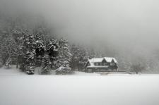 Gölcük kar,sis