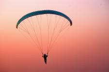 Paraşüttepe, uçuş